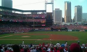 Busch Stadium Section 141 Row 17 Seat 7 St Louis