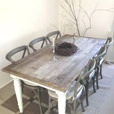 ... Shabby Chic Round Dining Table Set French Style Shabby Chic Dining Table  And Chairs Nice Shabby ...
