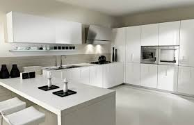 An All White Kitchen Can Be Monotonous And Boring To Look At, Which Is Why  It Could Be A Good Idea To Introduce Color. In This Kitchen, The Fruits On  The ...