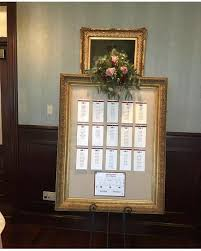 Seating Chart Wedding Seating Chart Frame