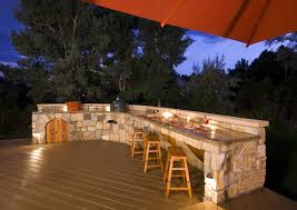 outdoor kitchen lighting. Lovely Outdoor Bbq Island Lighting Kitchen Ideas Brick Stone Grill Small