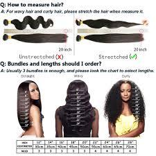 18 Inch Hair Chart Brazilian Deep Wave Bundles Virgin Human Hair 3 Bundles 8a 100 Unprocessed Natural Black Color 18 20 22
