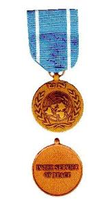 Un Medals Chart United Nations Medals United Nations Peacekeeping