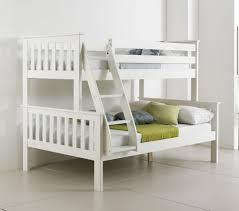 Details About Solid PINEWOOD WHITE TRIPLE SLEEPER BUNK BED - Atlantis bedroom furniture
