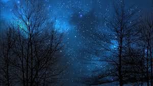 night sky blue nebula 4k dreamscene live wallpaper