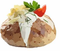 baked potato clip art. Interesting Clip Baked Potato Clipart 1 Inside Clip Art A