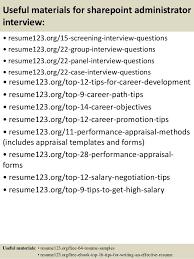 Administrator Resume Examples Sharepoint Administrator Resumes Koziy Thelinebreaker Co