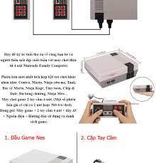 Máy chơi điện tử 4 nút Nintendo 620 trò chơi-Máy Chơi Game Cổ Điển Mini