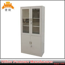 jas 020 full height sliding glass door metal office cabinet for files