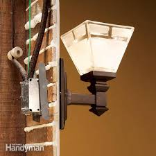 how to connect old wiring to a new light fixture family handyman how to wire a light fixture and switch at Light Box Wiring
