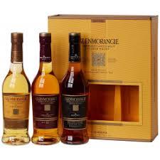 glenmorangie whisky explorer trio gift pack 3 x 35cl bottles