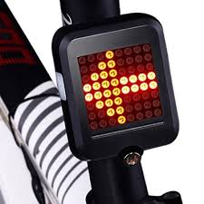 LED Bicycle Turn Signal Light with Horn MTB Front Rear Lights Bike ...