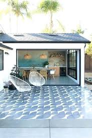 outdoor tiles for porch the pergola was removed the exterior wall opened up and a new