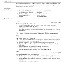 Babysitter Resume Sample Template Classy Sample Cover Letter For Babysitting Job Babysitting Resume Templates