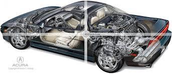 acura nsx 2005 engine. acura nsx cutaway nsx 2005 engine