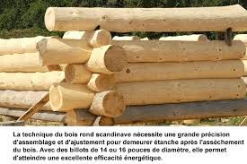 maisons bois rond construction