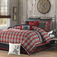 Red Bedding, Comforters, Duvet Covers, Bedspreads, Quilts & Bed In ... & Woolrich Williamsport Bed In A Bag Adamdwight.com