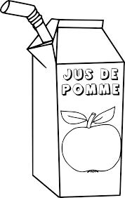 Coloriage Jus De Pomme Imprimer