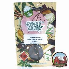 sweet jane milk chocolate vanilla birthday cake cookies