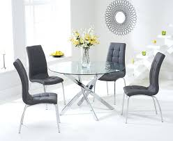 round glass kitchen table sets mark glass round dining set with 4 attractive glass round