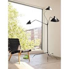 reion of serge mouille three arm floor lamp standing lampfloor lamps