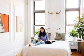 My 600sqft: Journalist Alexandra King Turns A Schlumpy Park Slope Rental  Into A Stunning Boho Chic Pad