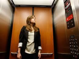 people inside elevator. home lift people inside elevator g