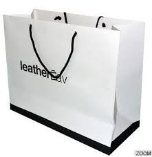luxury printed paper carrier bags full color paper gift bags with handles