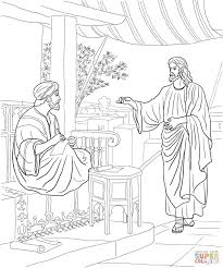 Small Picture Jesus Calls Matthew coloring page Free Printable Coloring Pages