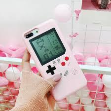 Ốp lưng kiêm máy chơi game cầm tay sáng tạo cho iPhone 6 / 6s / 7 / 8 Plus  X, giá chỉ 90,998đ! Mua ngay kẻo hết!