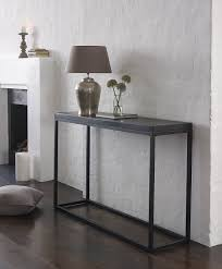 slimline console table. slim glass console table from great designer | afrozep.com ~ decor ideas and galleries slimline