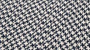 luxurious houndstooth rug at colonial mills outdoor tweed navy reviews wayfair