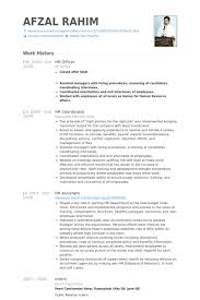 Resume Template Office Custom Human Resource Officer Resume Do 48 Things