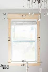 interior window frame designs. Interesting Window Frame Your Windows This Is Much Cheaper To Do Yourself And With A Little  Effort The Results Look Amazing Full Tutorial On Blesser House On Interior Window Designs