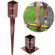 Image result for fence post spike