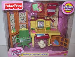 ebay home office. Fisher Price Loving Family Doll House Work-at-Home Office Retired 2006 NEW Ebay Home O