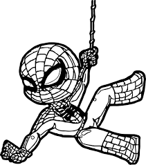 Free printable spiderman coloring pages for kids. Nice Coloring New Spiderman Spiderman Coloring Disney Coloring Pages Coloring Pages For Kids