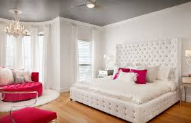 Girls Room Decoration Ideas Kids Contemporary With Teen Tufted  Headboard White Bedrooms Teenage Bedroom Furniture Ideas O63