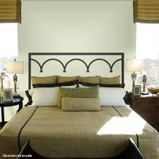 provence iron headboard wall decal png