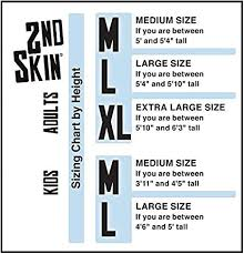 Extra Large Size Chart Rubies Adult Solid Color 2nd Skin White