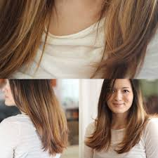 I paid a little visit to the hair salon today. I asked for an ombre effect,  meaning that the bottom of my hair was lightened and blended up into my  natural ...