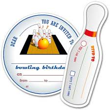 Bowling Party Invitations Dadcando Com Doing Party Invitations Big Kitchen Science