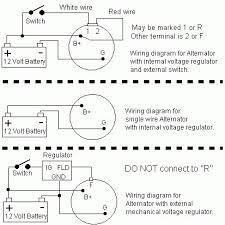 delco regulator wiring diagram wiring diagram simonand alternator wiring connections at 12 Volt Alternator Wiring Diagram