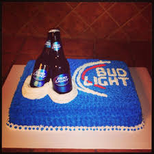 Bud Light Birthday Bud Light Cake Bud Light Cake Birthday Cakes For Men