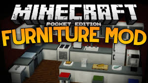 more furniture in mcpe  the furniture mod  minecraft pe