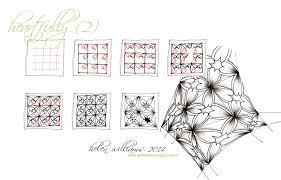Zentangle Patterns Step By Step Custom PATTERNS