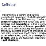 "response to literature essay definition pertaining to how to   literature modernism in literature define the word ""modern"" in your own for how to"