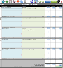 diet spreadsheet diet tracker spreadsheet greenpointer
