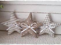 3 Sterneweihnachtenchristbaumschmucktaupe Weiß Nähen