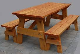 Table Appealing Outside Picnic Tables Table A Grass Field Stock